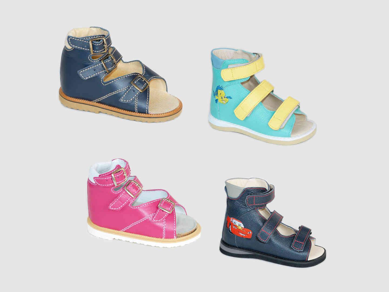 Ортопедические сандали детские