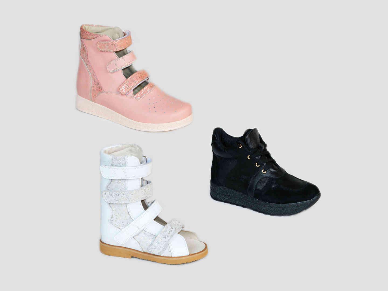 Ортопедические ботинки женщин