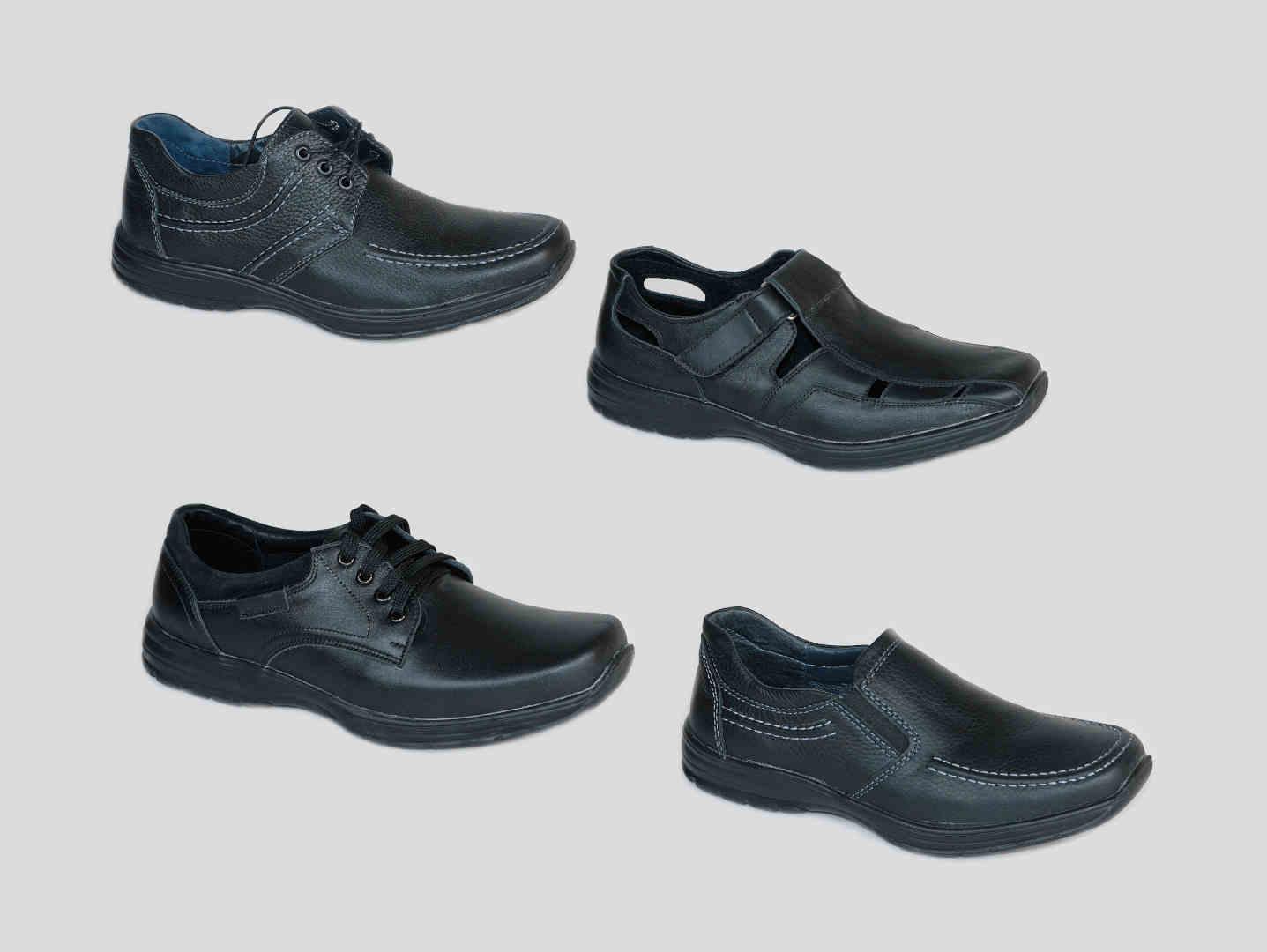Ортопедические туфли мужчин