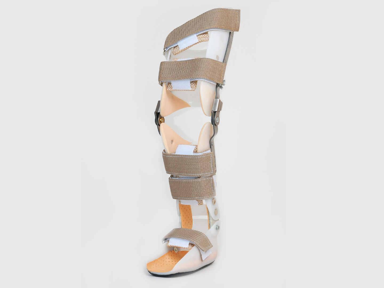 Ортез шарнирный на коленный голеностопный сустав